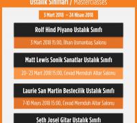 Ustalık Sınıfları 3 Mart – 24 Nisan