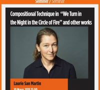 """Laurie San Martin: Compositional Technique in """"We Turn in the Night in the Circle of Fire"""" and other Works"""