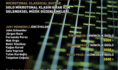 THE WINNERS OF THE 3RD INTERNATIONAL MICROTONAL GUITAR COMPETITION