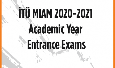 2020-2021 ACADEMIC YEAR ENTRANCE EXAM