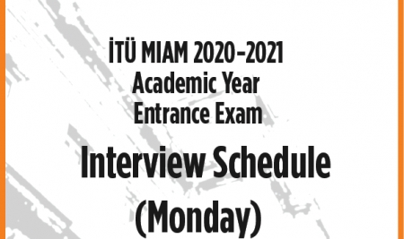 Interview Schedule for Monday